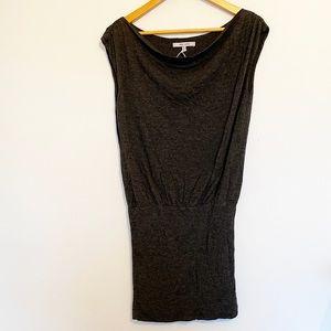 Naked Zebra Small Charcoal Dress